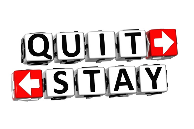 quit or stay